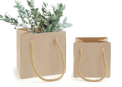 Uni paper flower bag