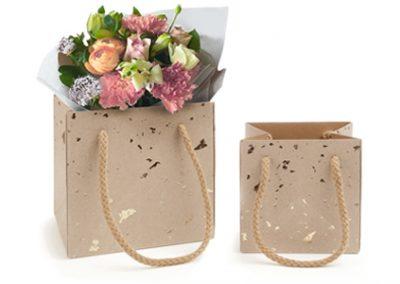 Carat paper flower bag