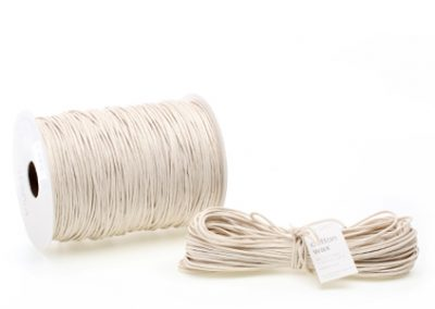 Cotton wax cord 2mm