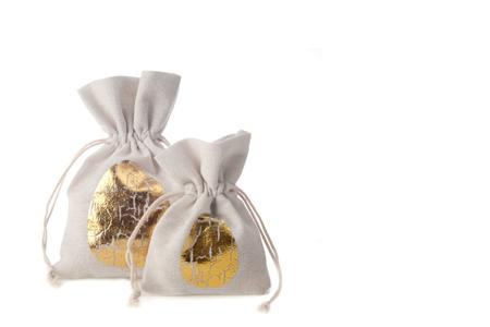 Golden Easter flatbag