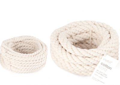 Cotton cord 6mm & 20mm