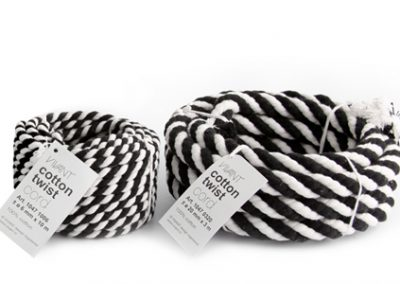 Cotton twist cord 6mm & 20mm