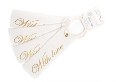 With love paper tags