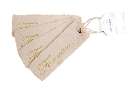 For you paper tags