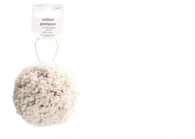 Cotton pompon
