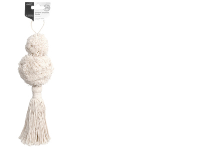 Cotton pompon ornaments