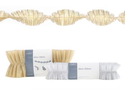 Ruche deco ribbon