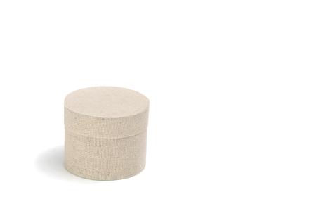 Cotton round box