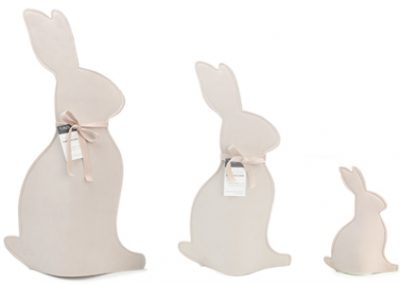 Velvet bunny sleeves