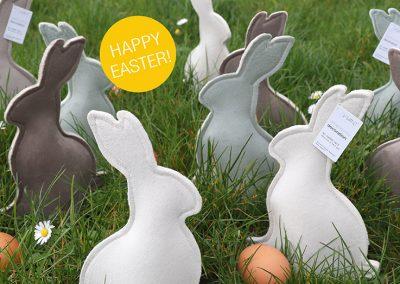 Happy Easter met Velvet bunny!
