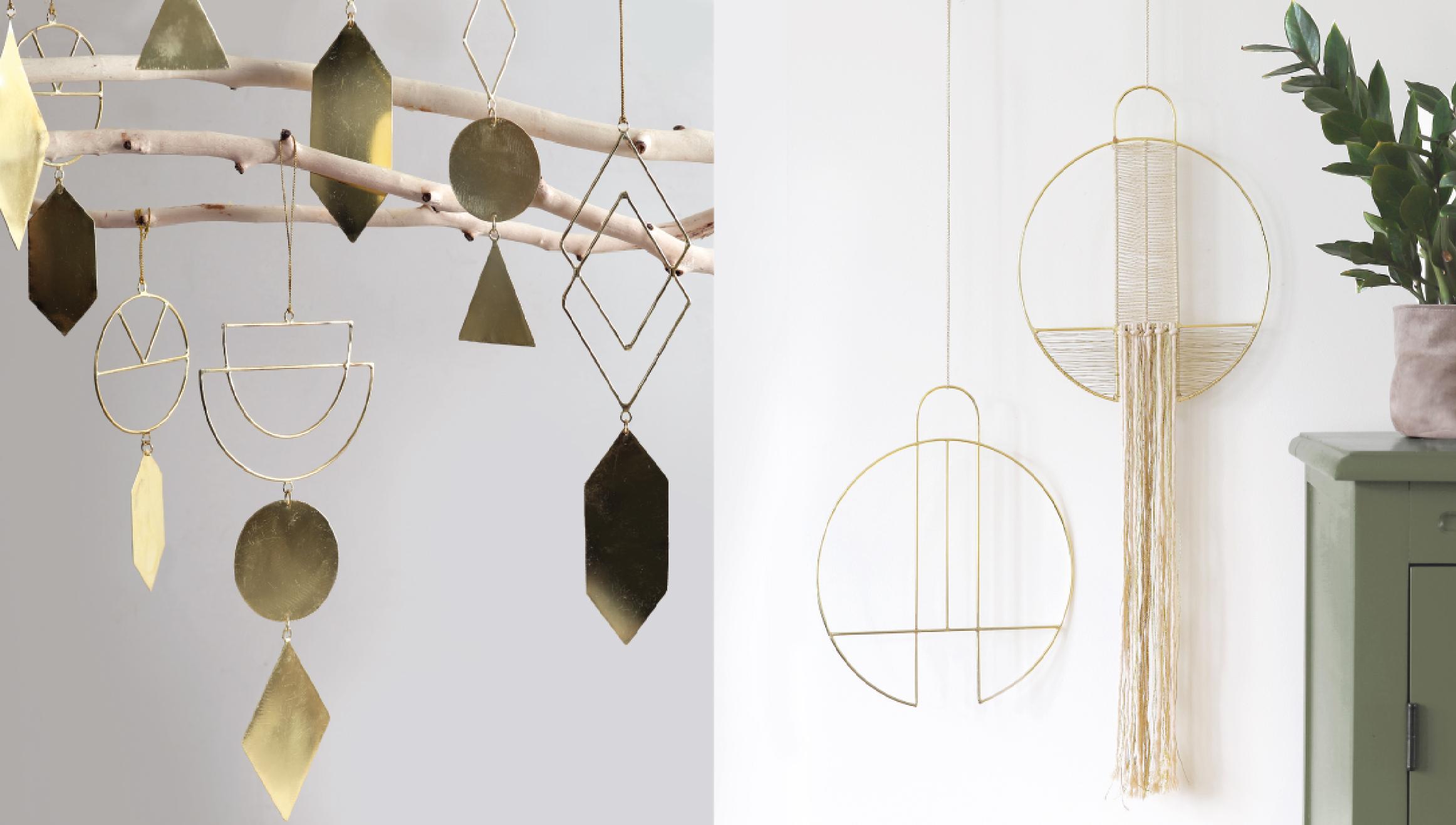 Metalé ornamenten en Metalé wall deco & wall hanger