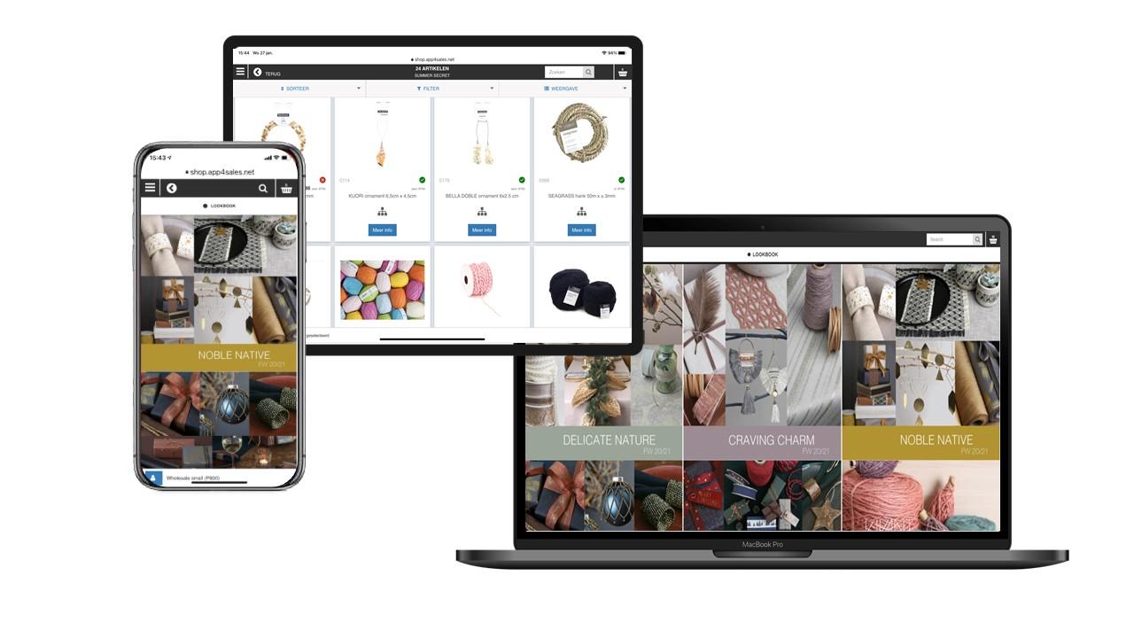 Vivant portal for sales