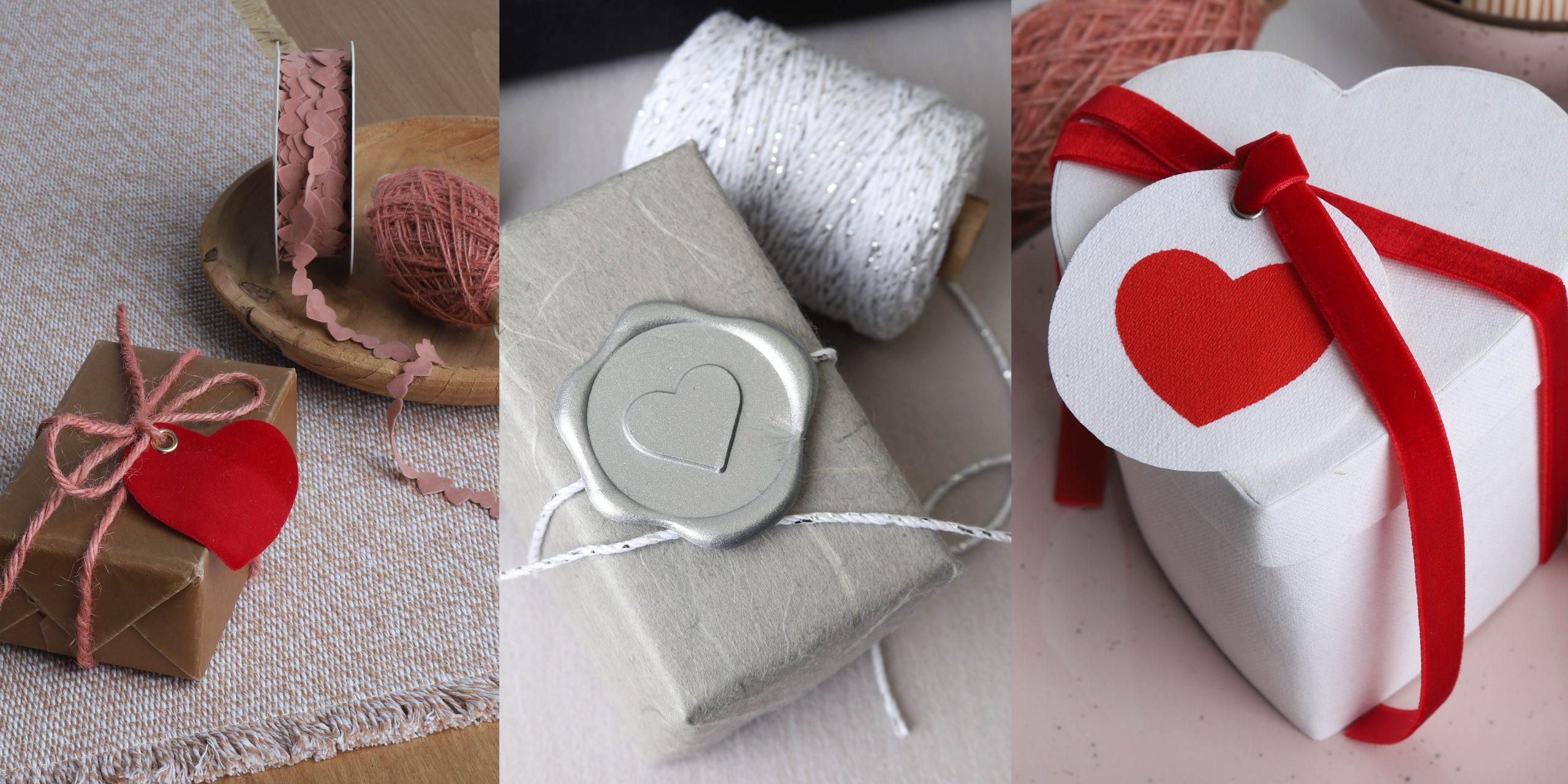 Valentijnsverpakkingen - Originele ideeën om te verpakken