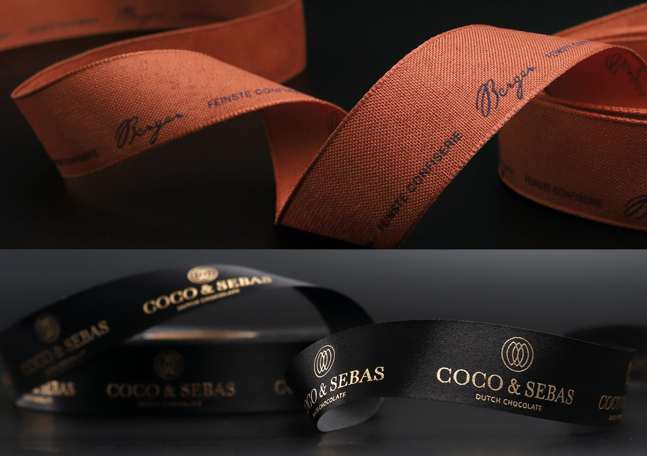 Branded ribbon examples