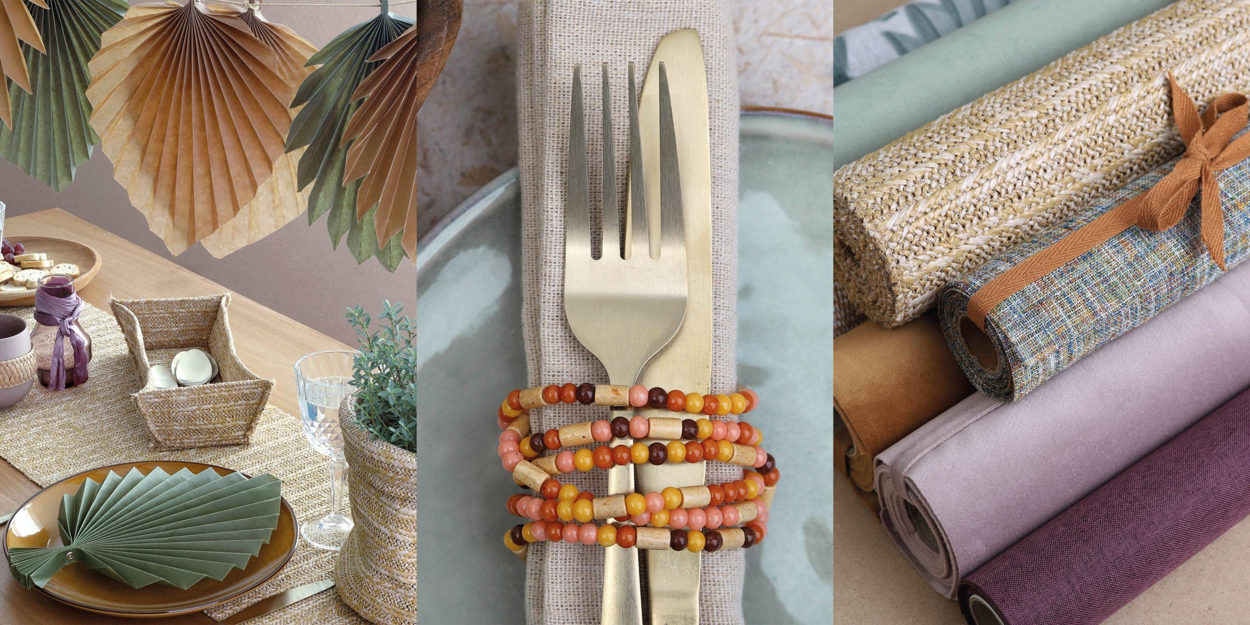 Decoratie ideeën voor de tafel